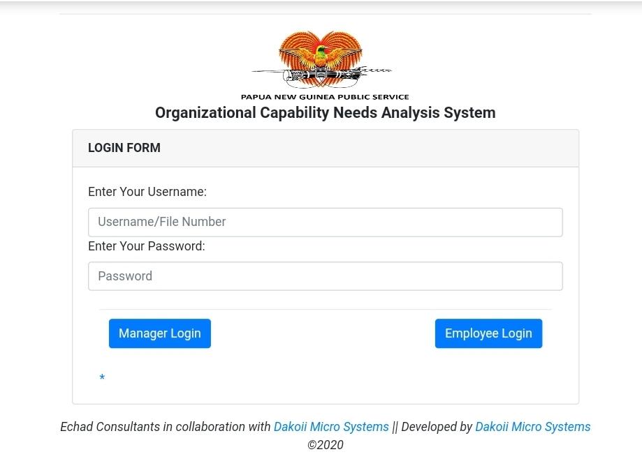 OCNA Online Analysis System